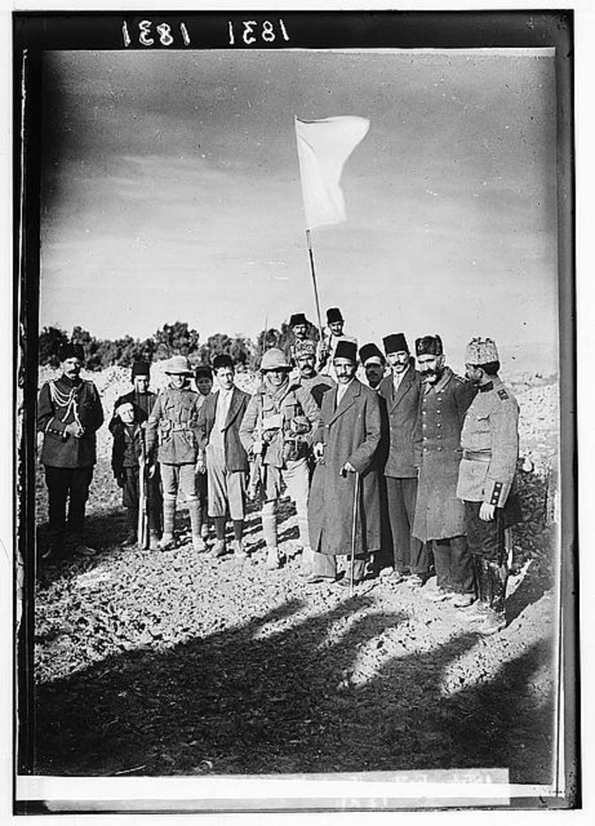 Surrender of Jerusalem 1917