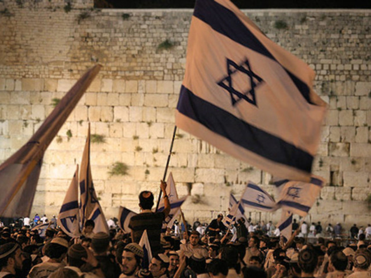 Jerusalem Day Celebrations at the Western Wall (Kotel)