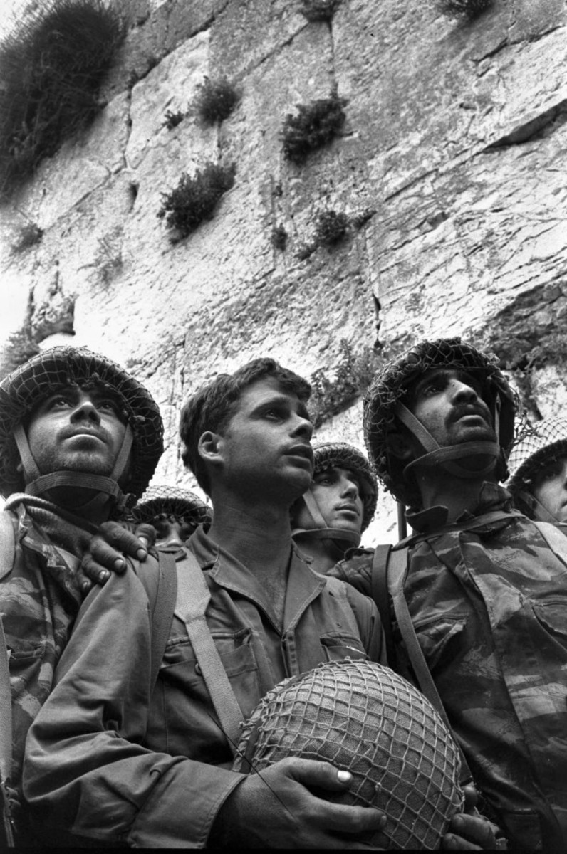 The Western Wall June 7, 1967