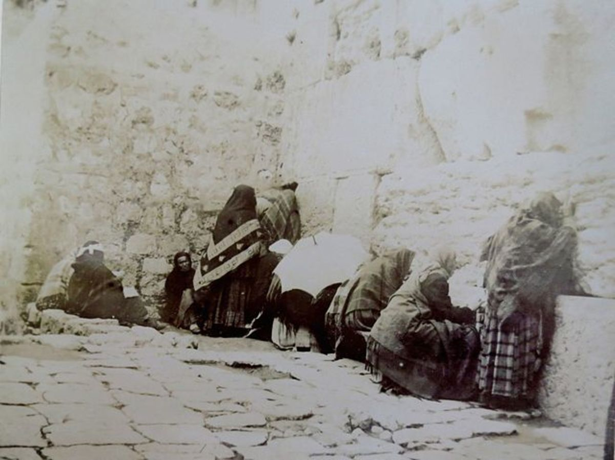The Wailing Wall, 1891