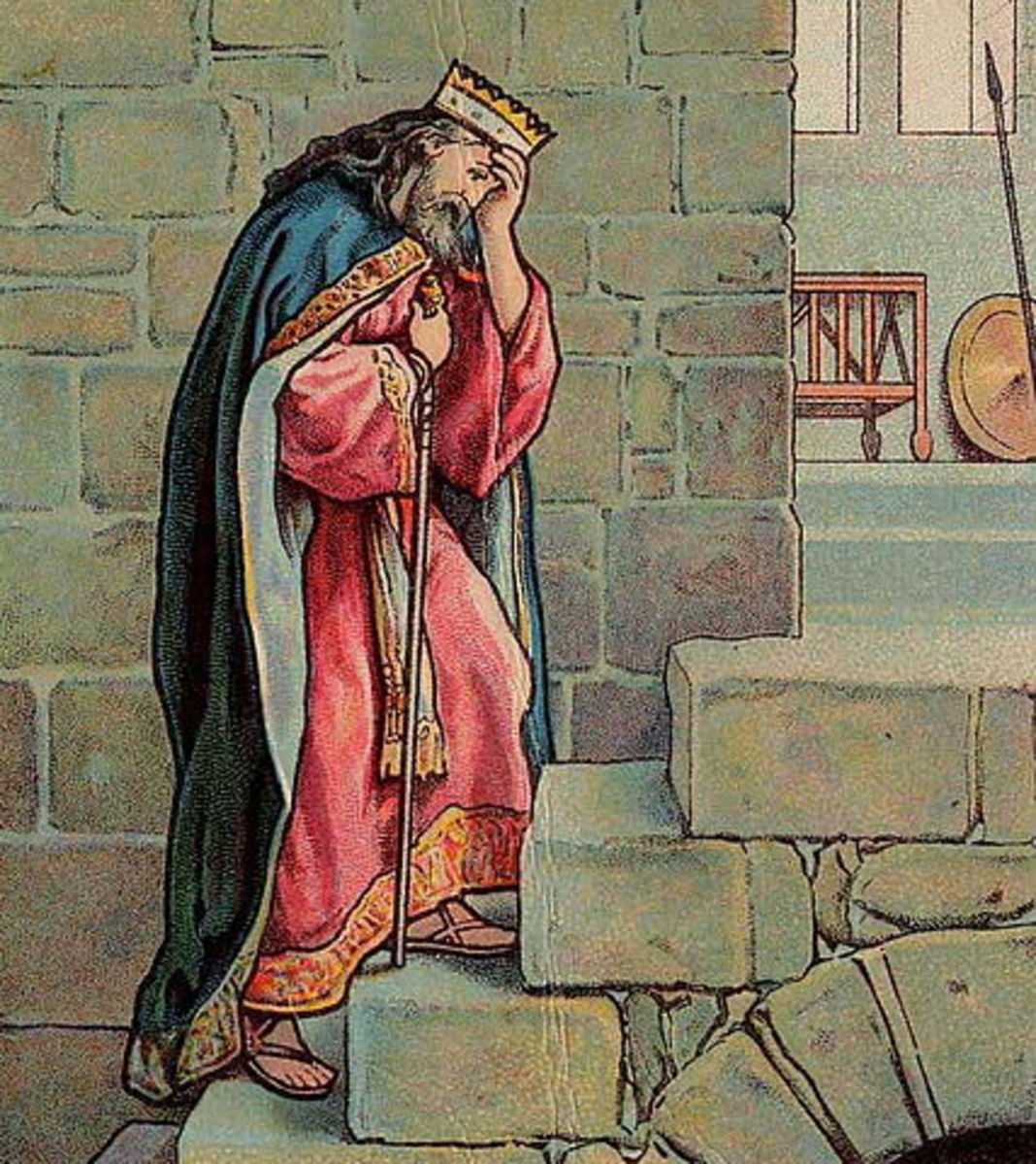 King David in Jerusalem