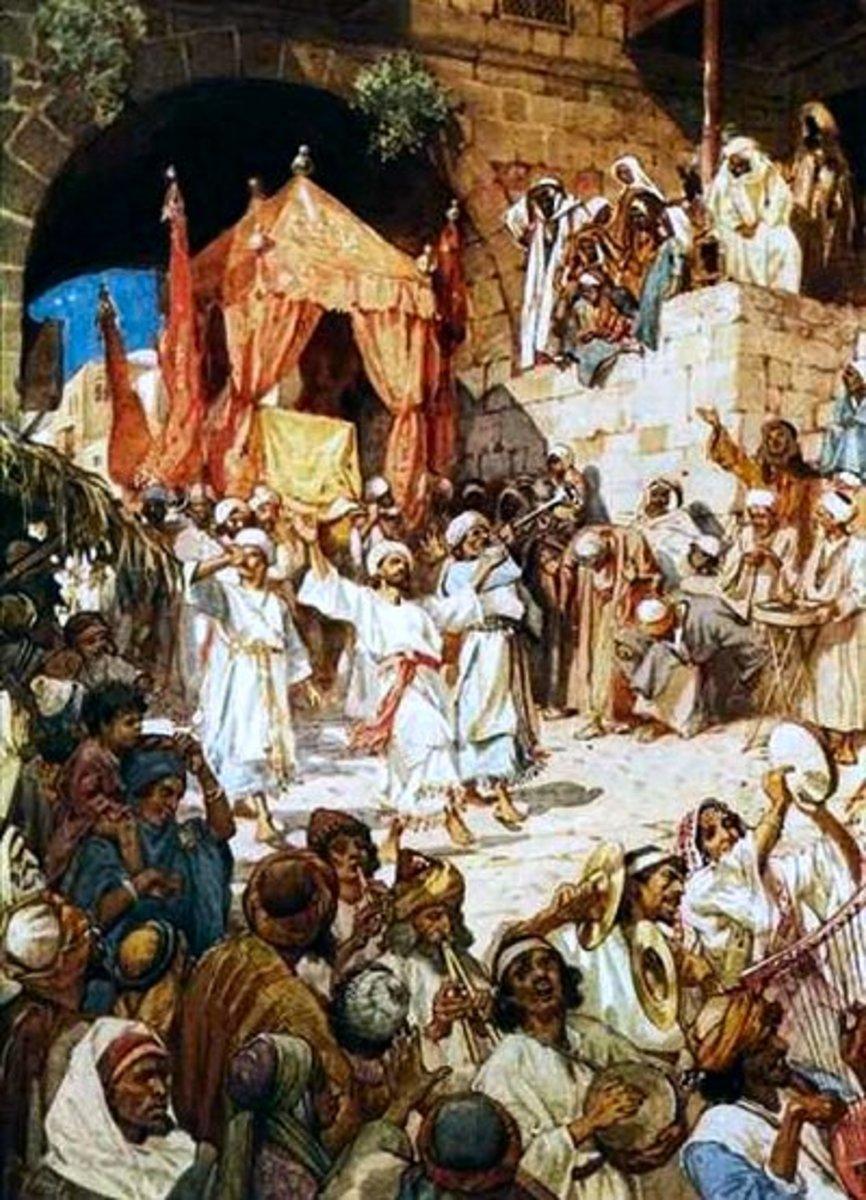 Ark of the Covenant Taken to Jerusalem