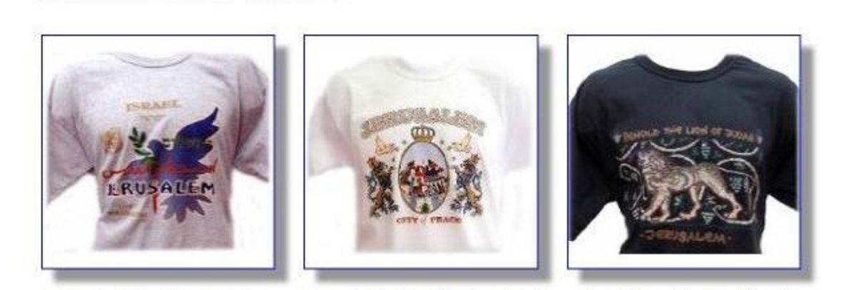 Jerusalem T-Shirts