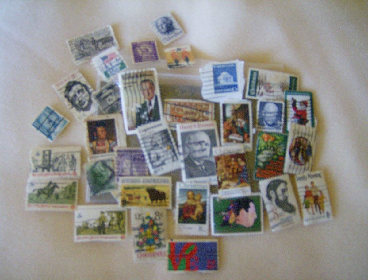 A few duplicate stamps