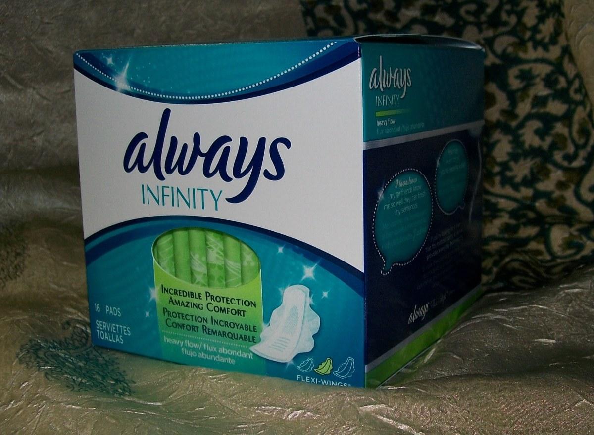 Always Infinity® heavy flow pads