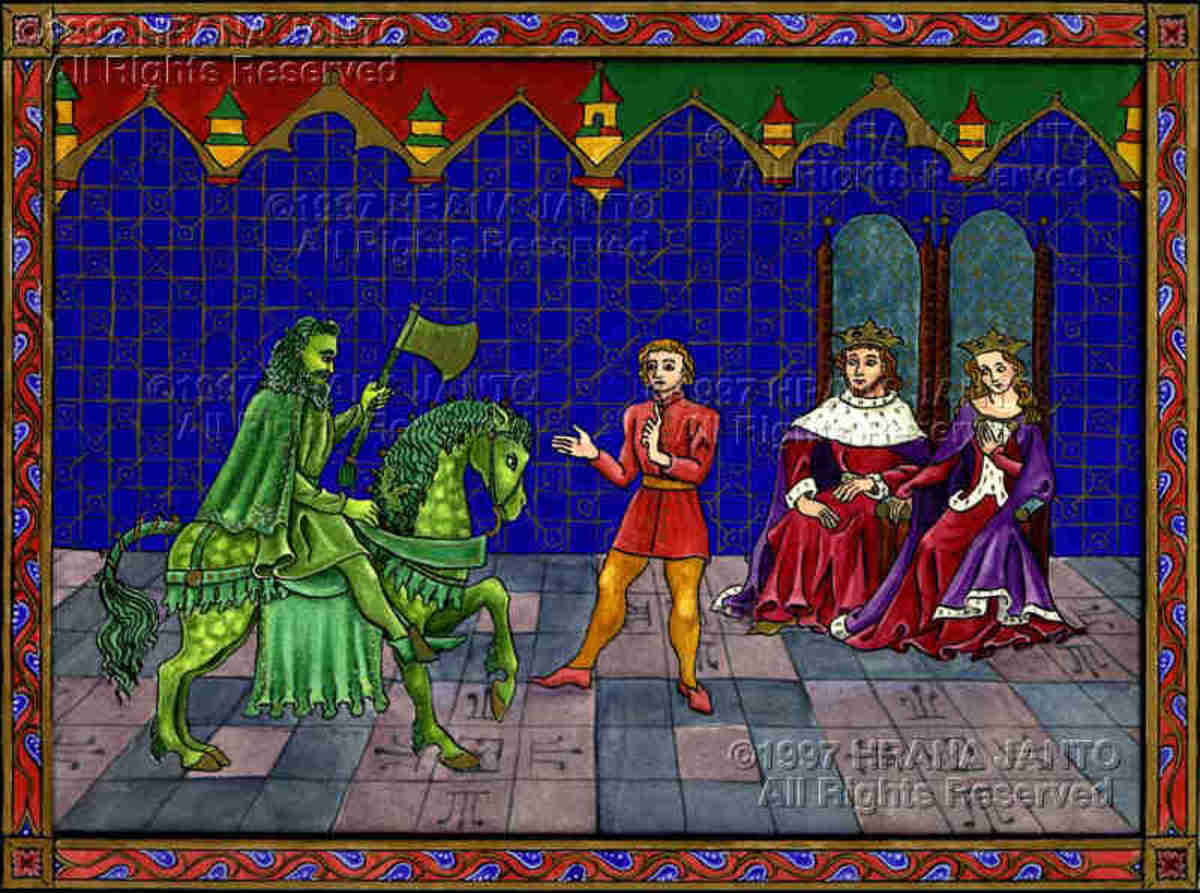 sir gawain analysis Sir gawain  though gawain and guinevere share the high table at the new year's celebration in arthur's court, he describes himself as the least of arthur's knights in terms of both physical prowess and mental ability.