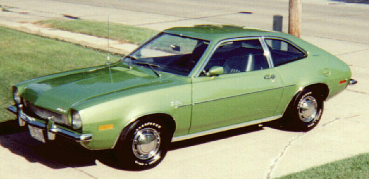 Ford's Pinto, circa 1972, allegedly caused much car trouble.