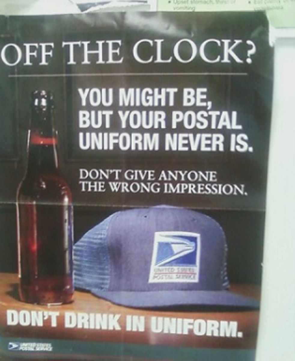 Cliff Clavin obviously never heeded the warning on this poster!