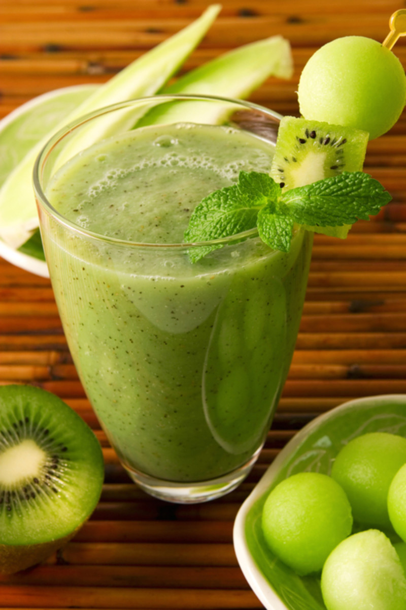 Healthy Japanese Shakes and Smoothies
