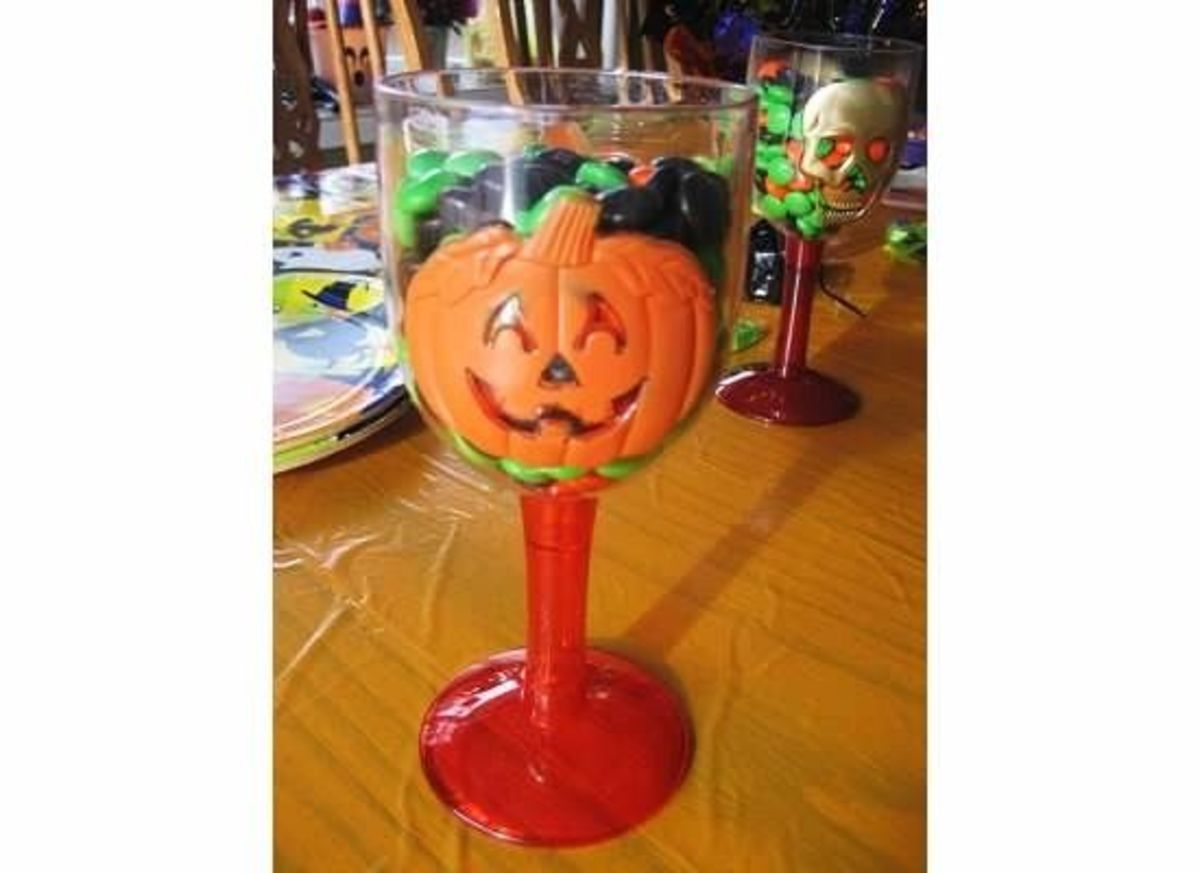 Halloween Candy Cup