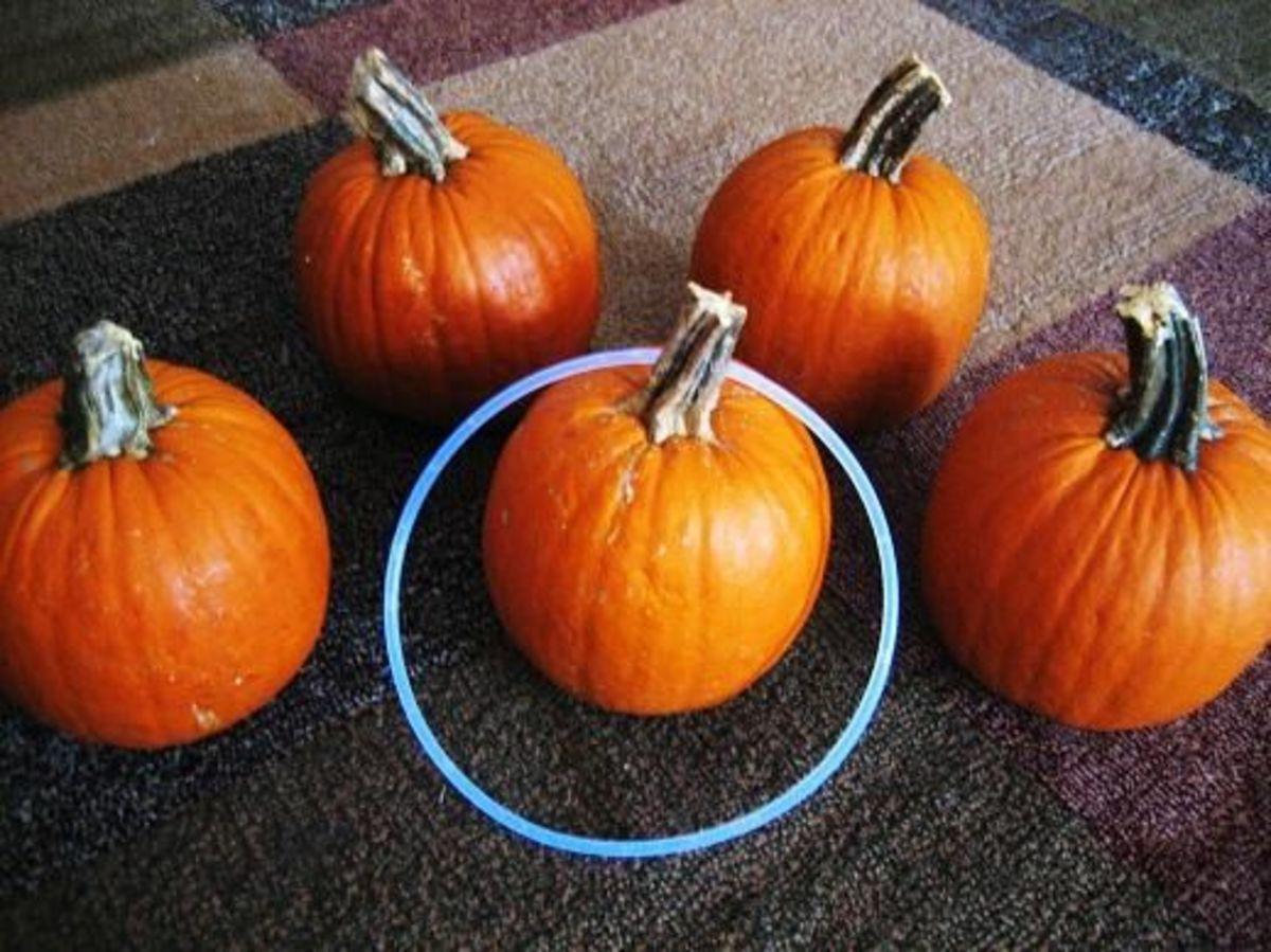 Pumpkin Ring Toss
