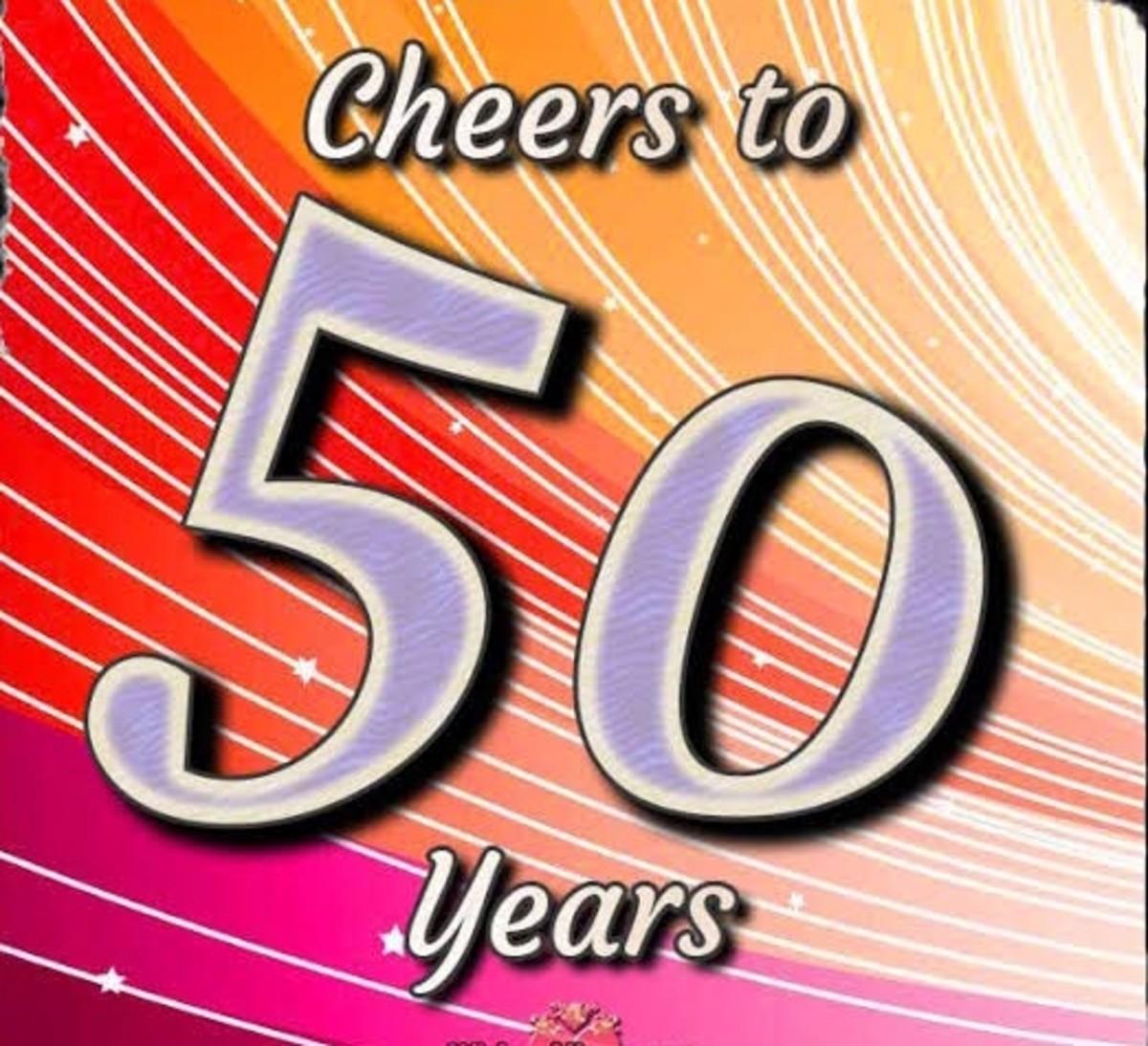 Life begins at 50.