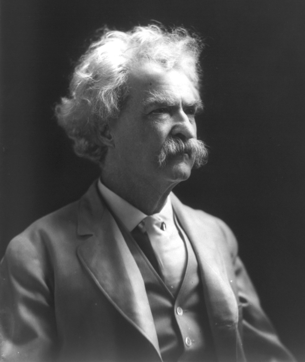 Mark Twain was angry about the Philippine-American War of 1899.
