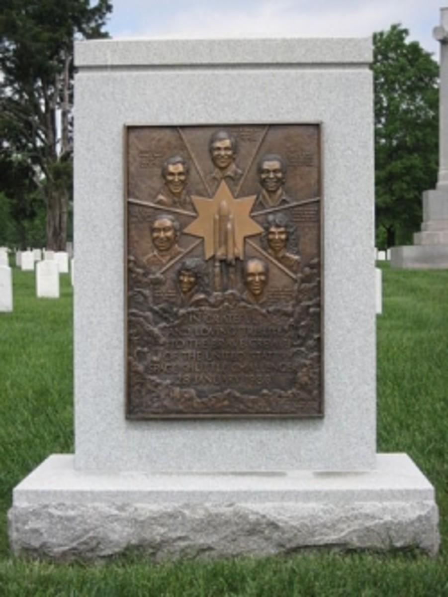 Challenger Memorial at Arlington National Cemetary