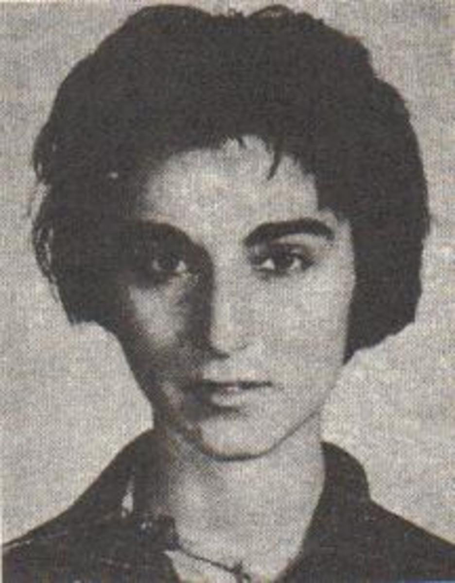 Kitty Genovese.  The bystander effect is also called Genovese syndrome after this woman whose murder was heard and witnessed by numerous neighbors in her apartment complex.