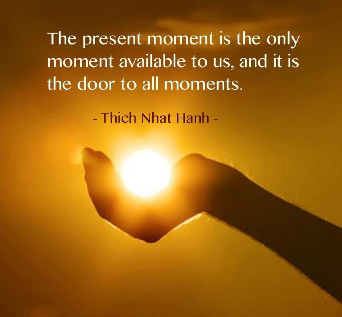 Be Fully In The Present Moment In 7 Days!