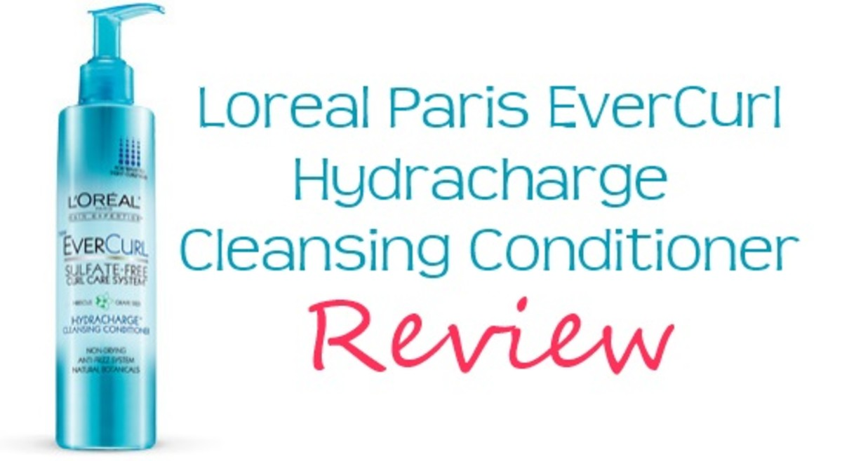 My Curly Girl: L'Oreal Paris Evercurl Hydracharge Cleansing Conditioner Review (before and after pics)
