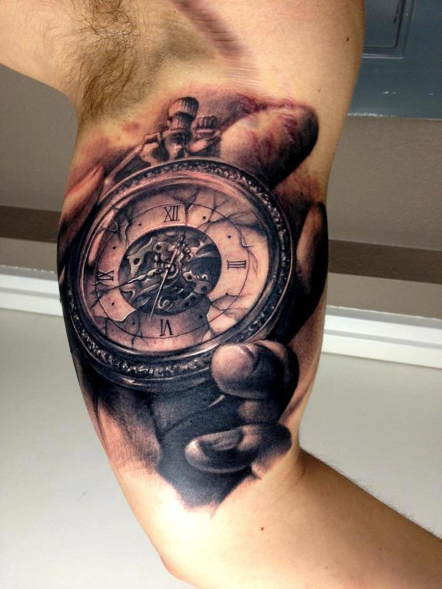 Watch tattoo