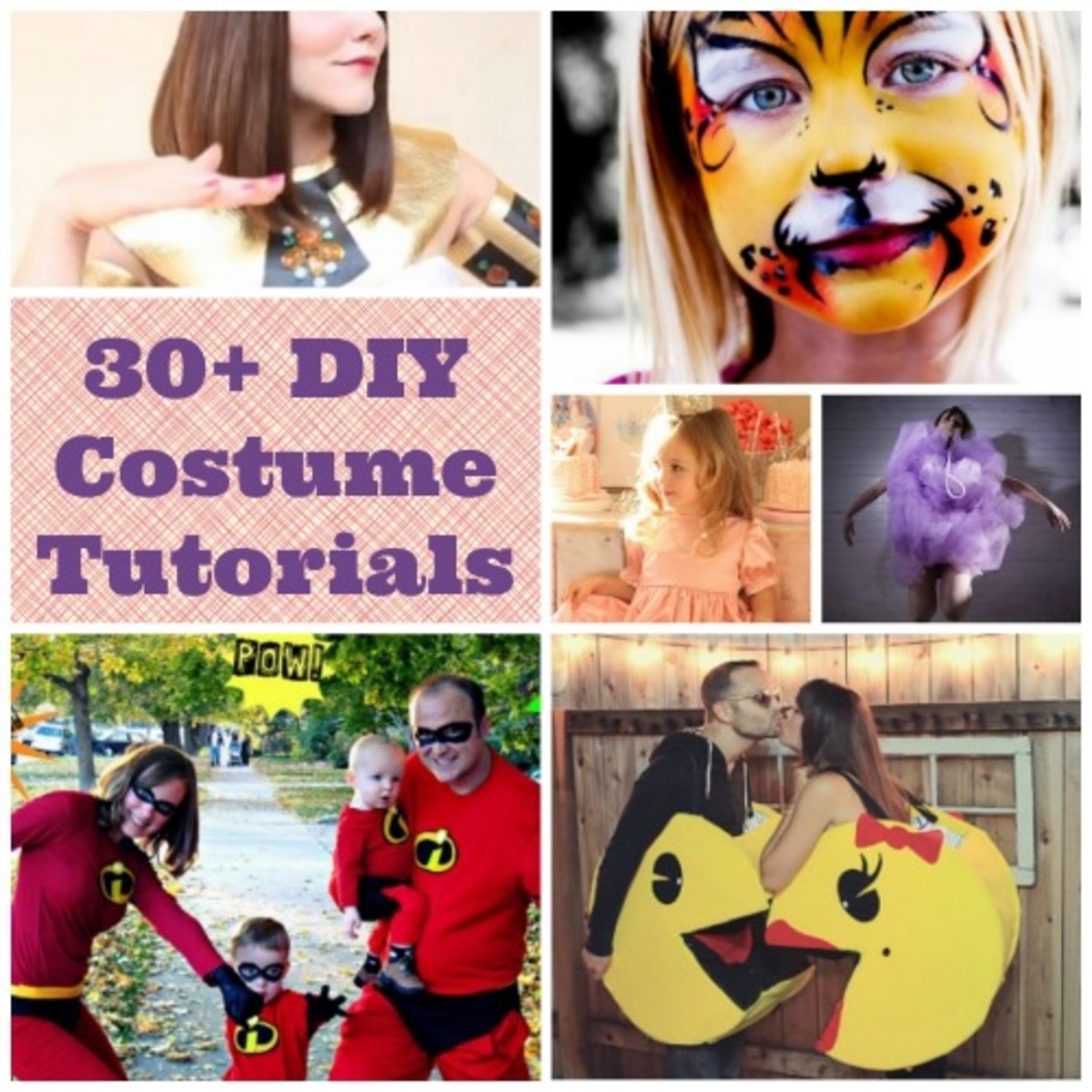 DIY! Homemade Costumes Ideas