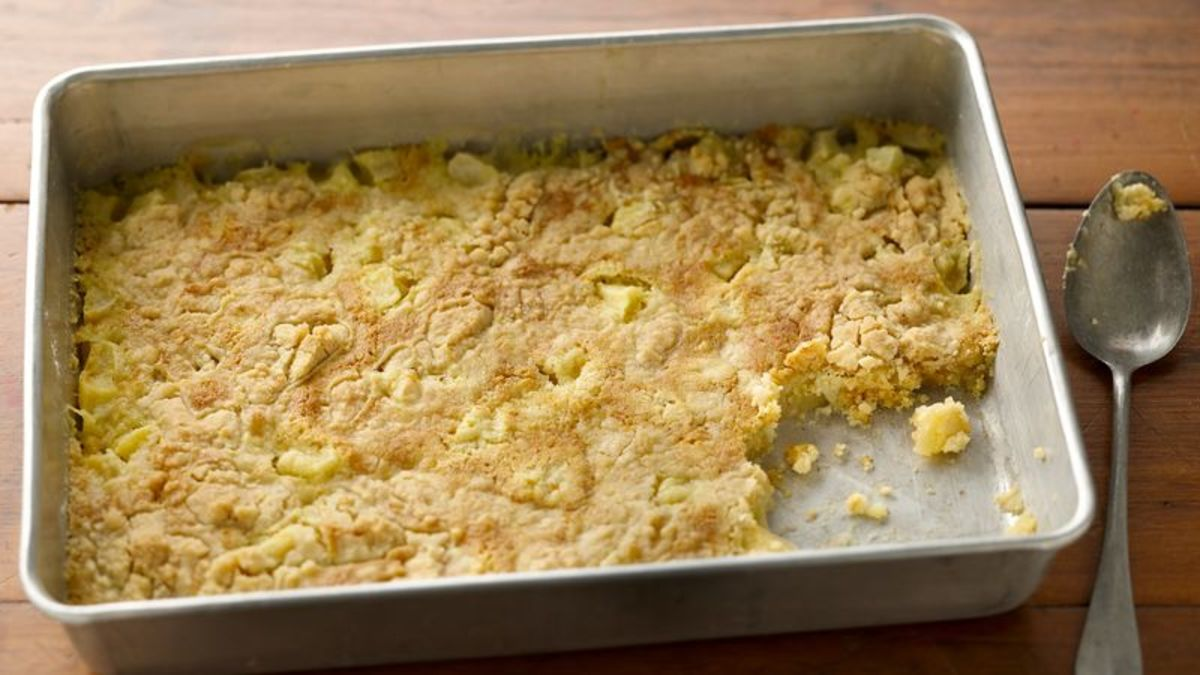 3 Ingredient Dump Cake recipe