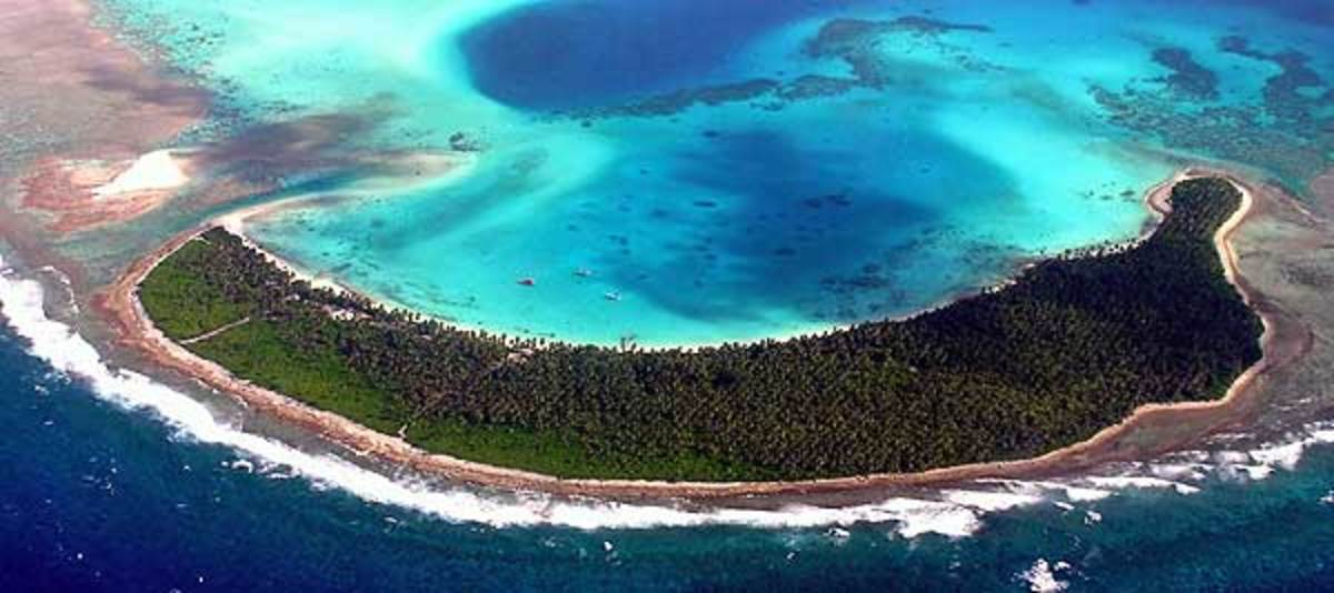 The stunning Cocos Islands. What a place to treasure hunt.
