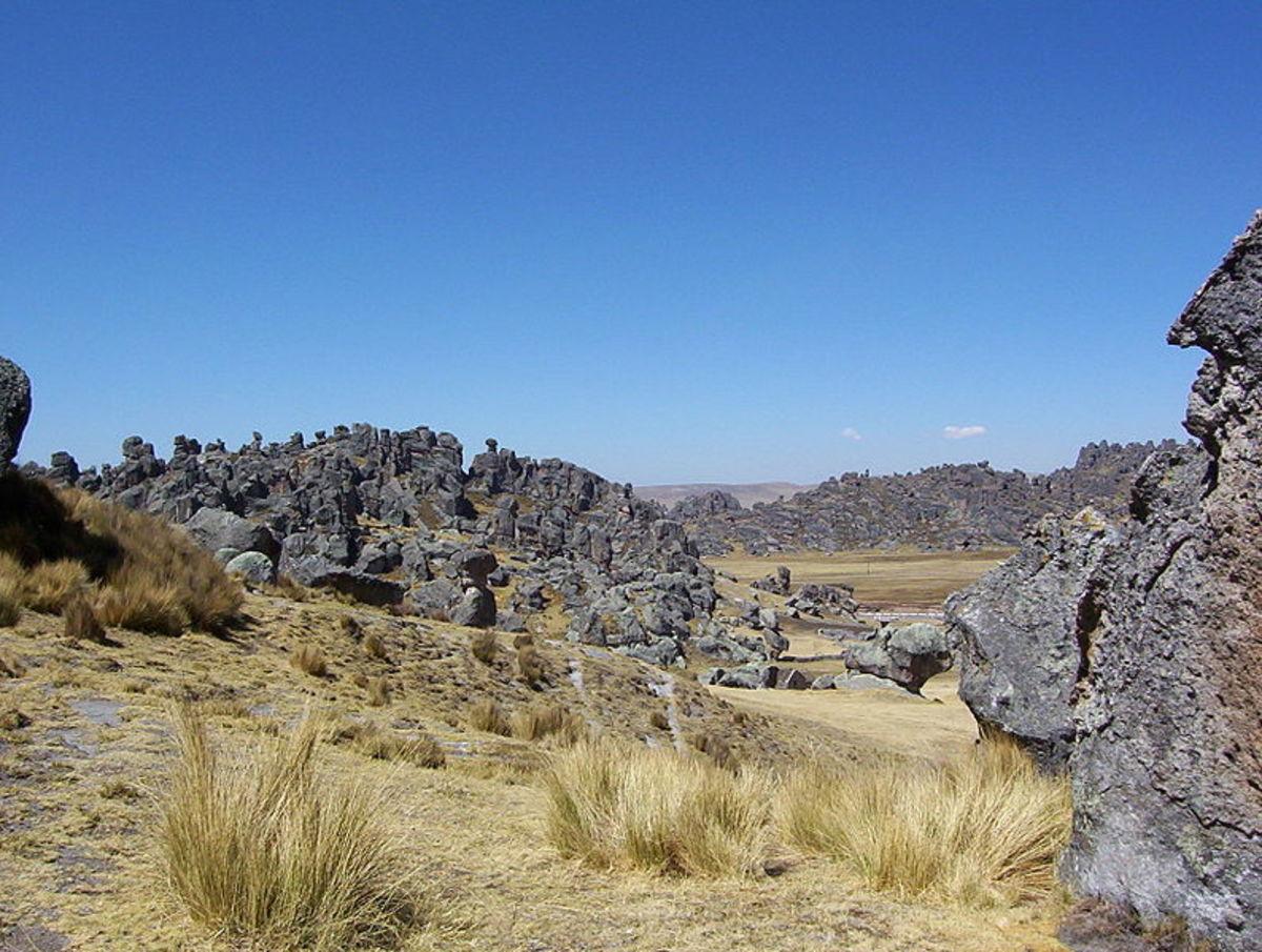 Pasco Region of Peru. Source: Berndw WMC.