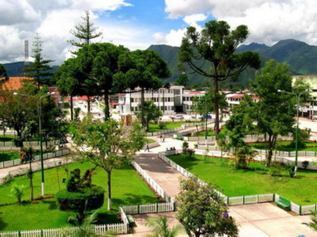 Oxapampa Plaza.