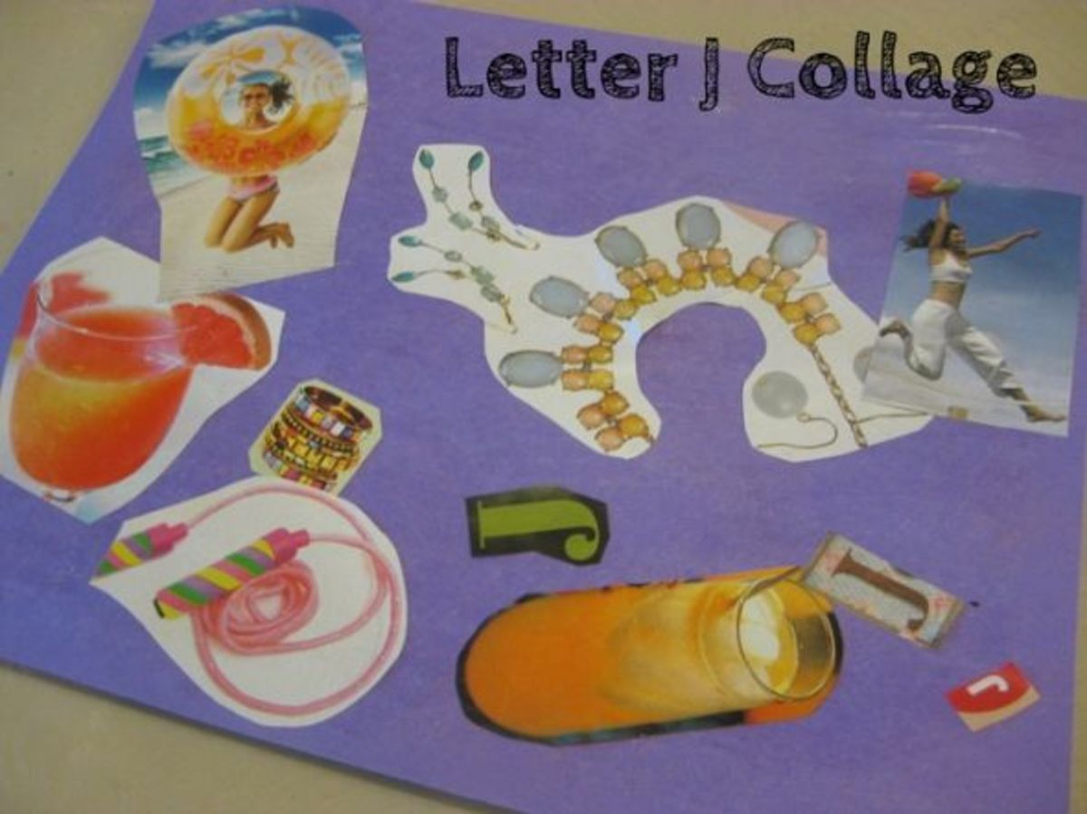 alphabet activities for kids letter j collage