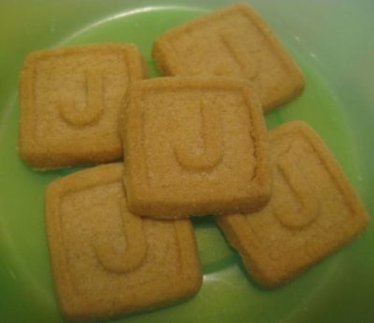 Letter J Cookies