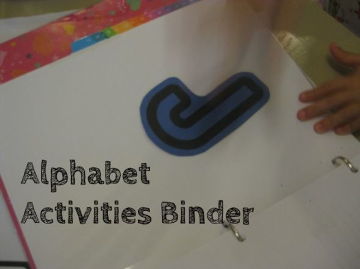 alphabet activities for kids binder