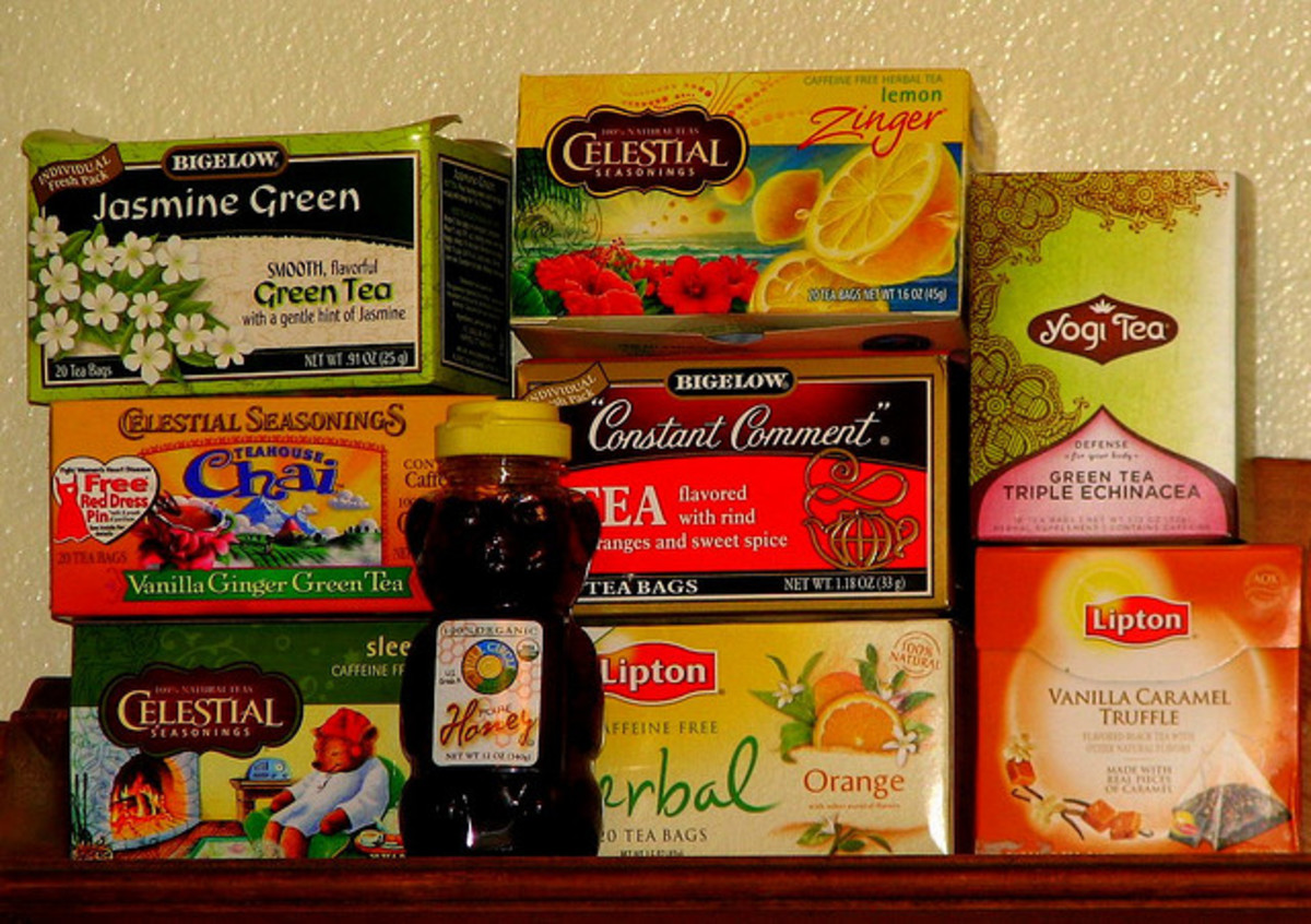 Expand your tea collection with Celestial Seasonings and other store-bought tea brands and flavors.