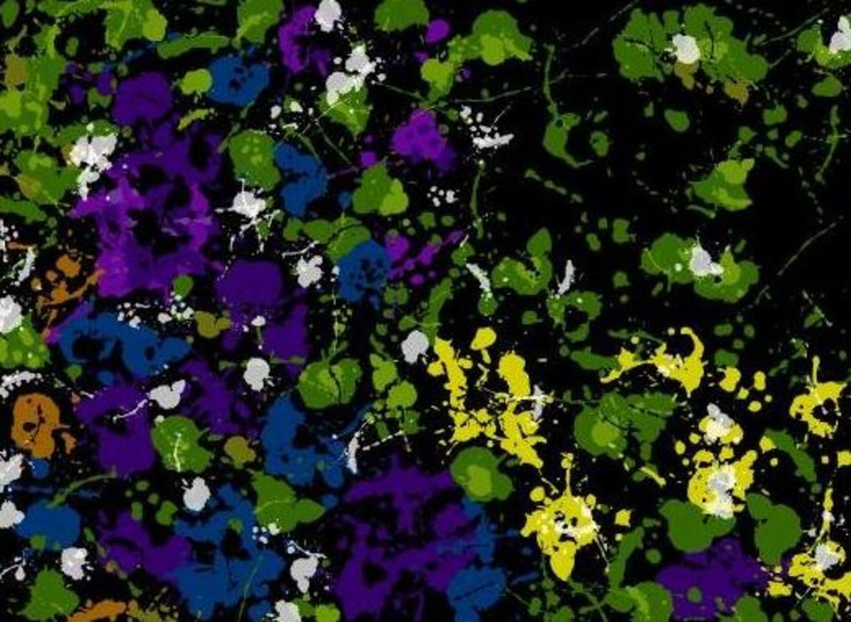 ©2007 Flowers using ArtPad