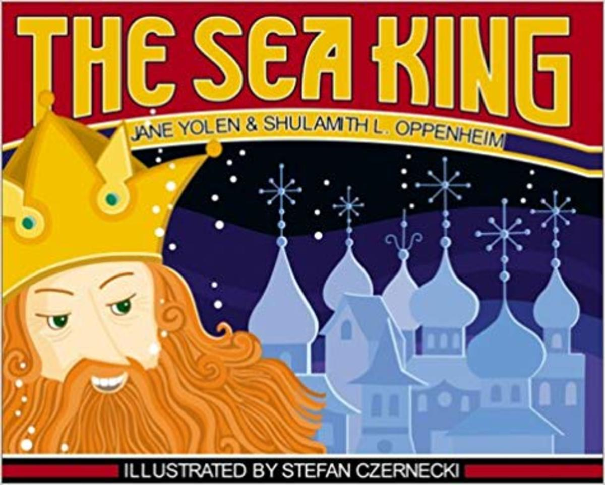 The Sea King by Jane Yolen - Book images are from amazon .com.