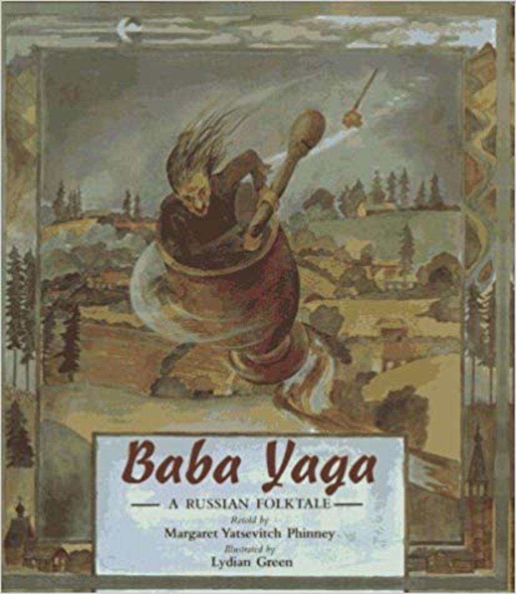 Baba Yaga (A Russian Folktale) by Margaret Yatsevitch Phinney