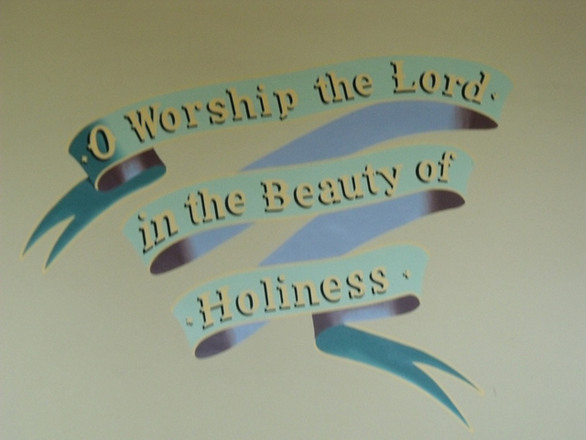 The approach in worshiping the Lord in the beauty of Holiness is a prerequisite for entering in the gates and courts.