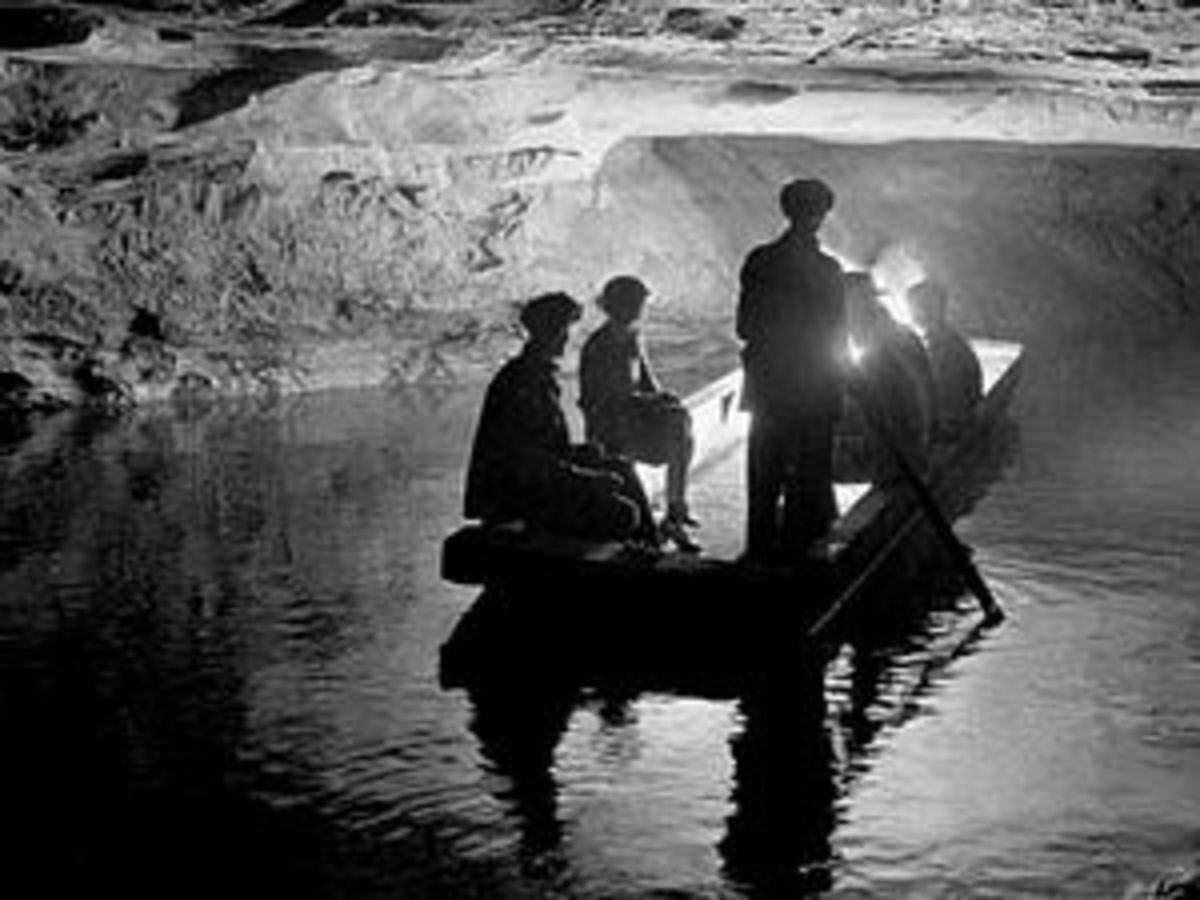 River Styx in Mammoth Cave.