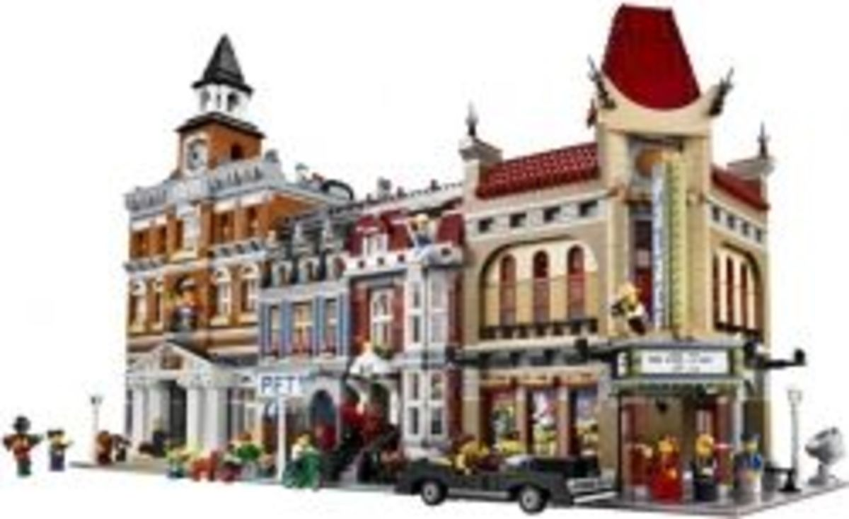 An Overview of the Entire Lego Modular Buildings Series