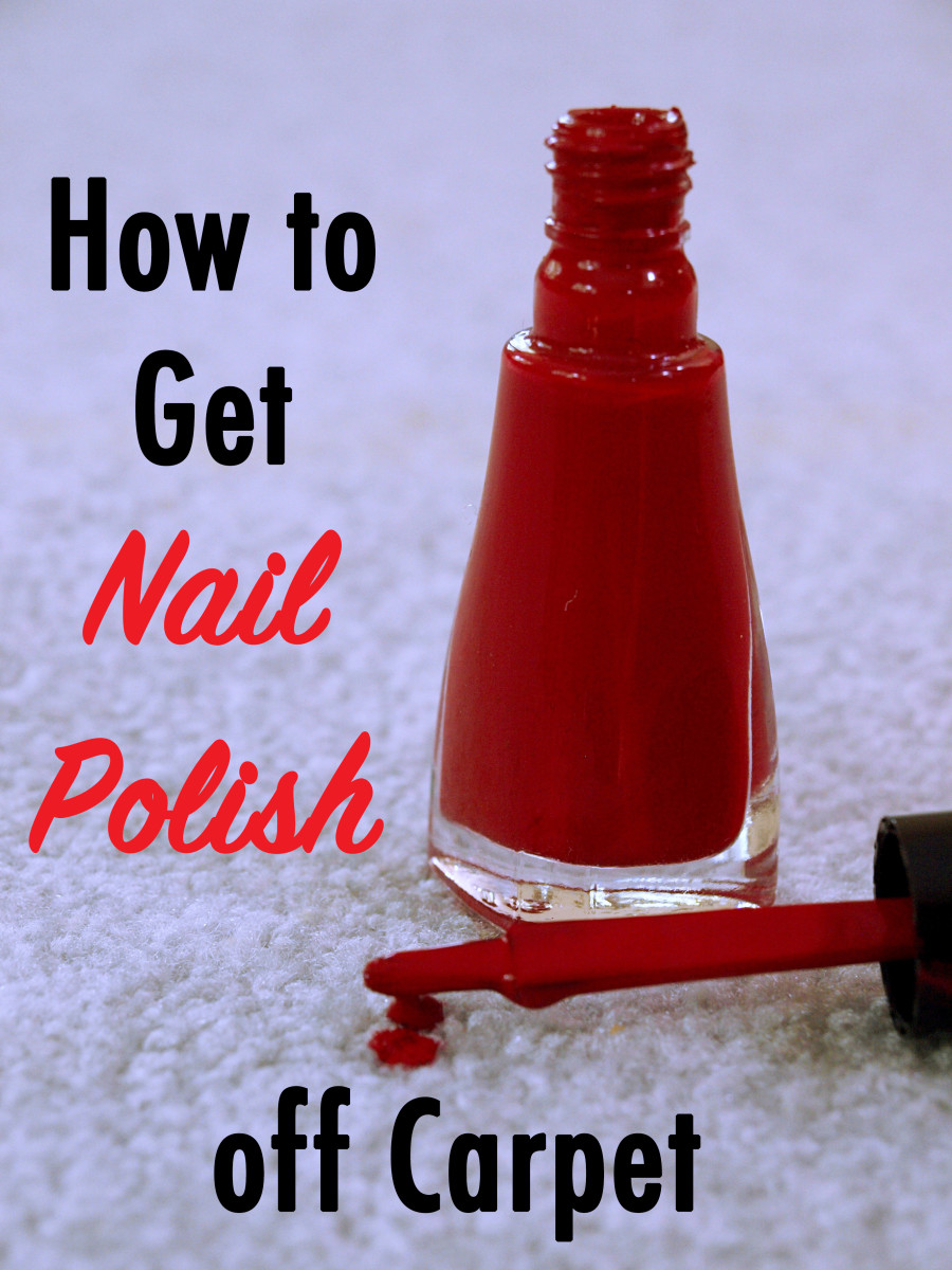 How To Get Nail Polish Out Of Carpet