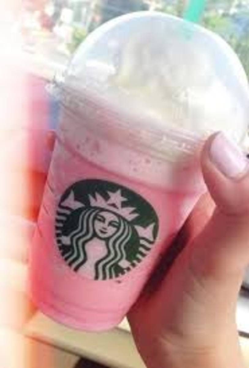 Cotton Candy Frappuccino