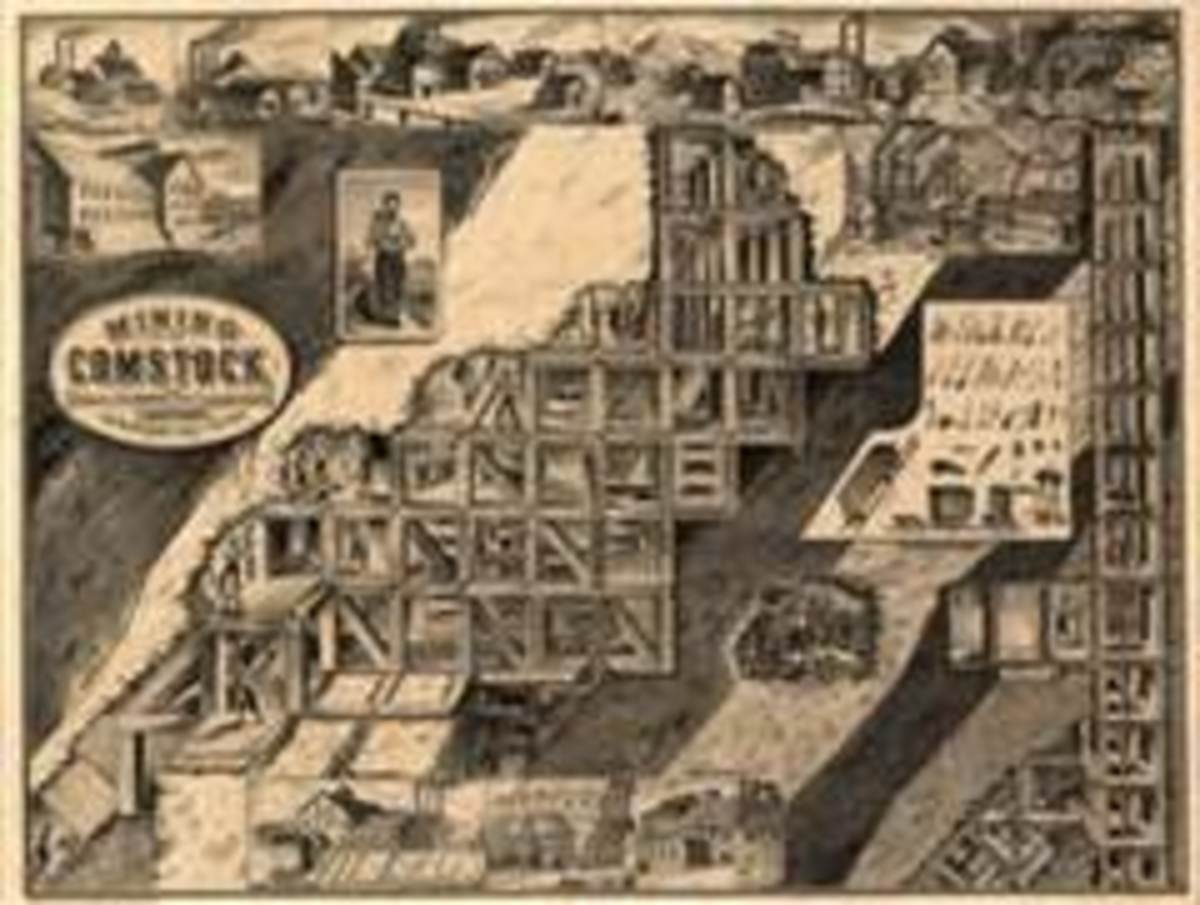 Nevada History: The Comstock Lode and Virginia City