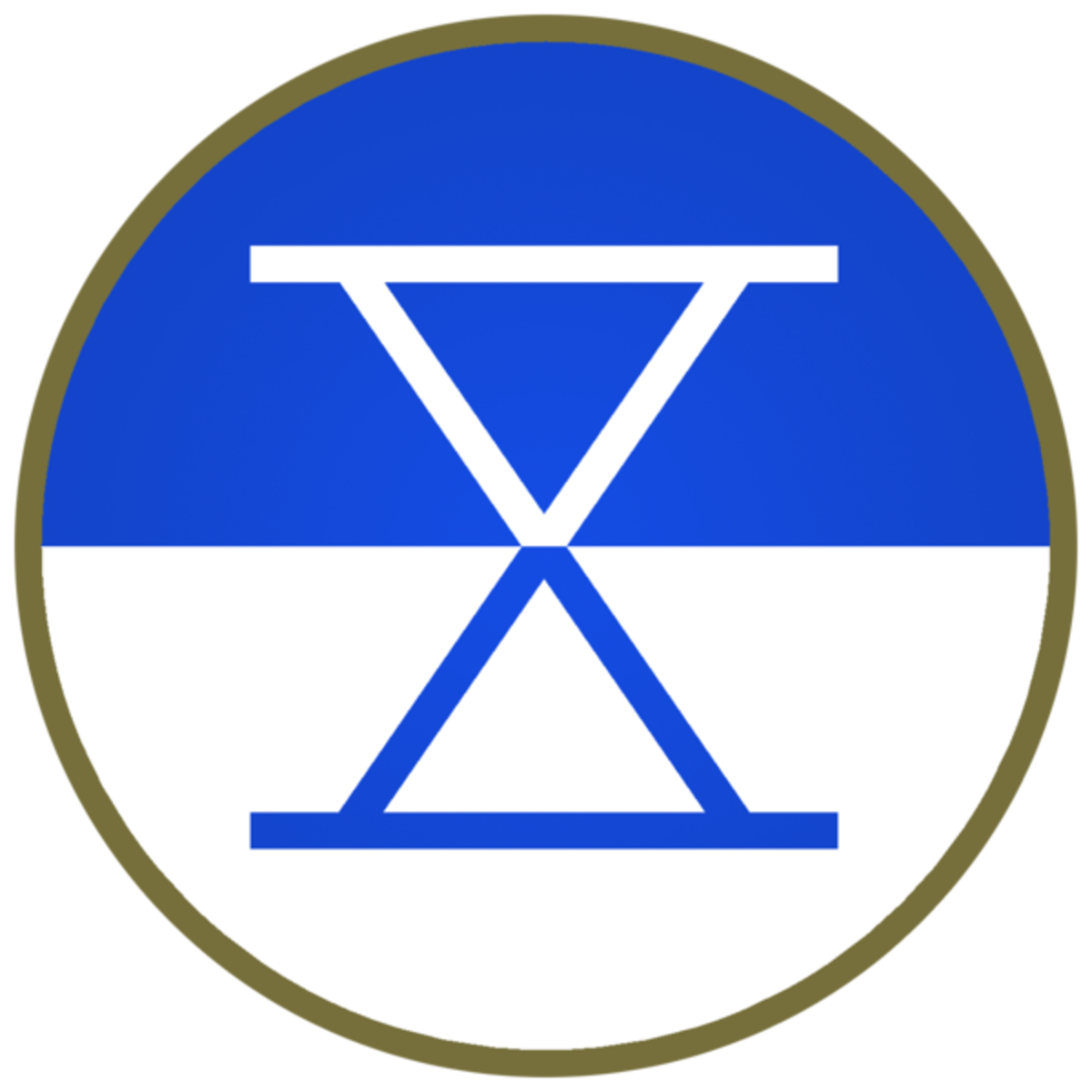 X Corps patch