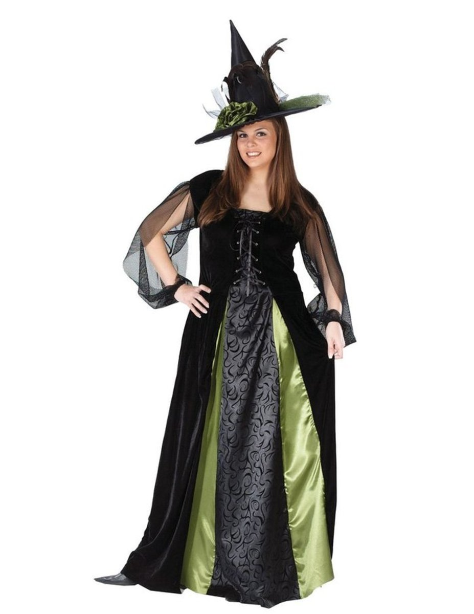 Adult Goth Maiden Witch Adult Womens Costume