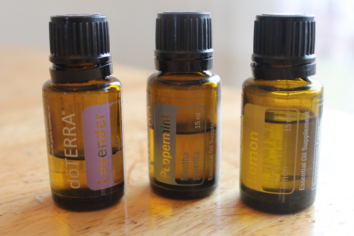 lavender, peppermint and lemon are excellent oils to choose for soaking feet.