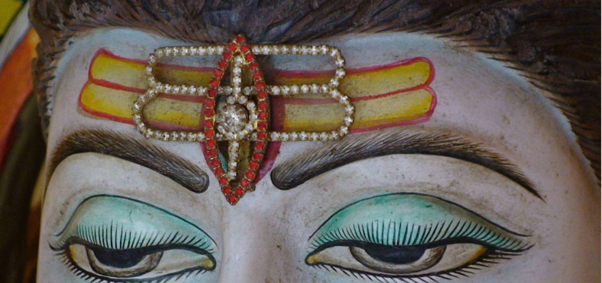 Shiva's third eye