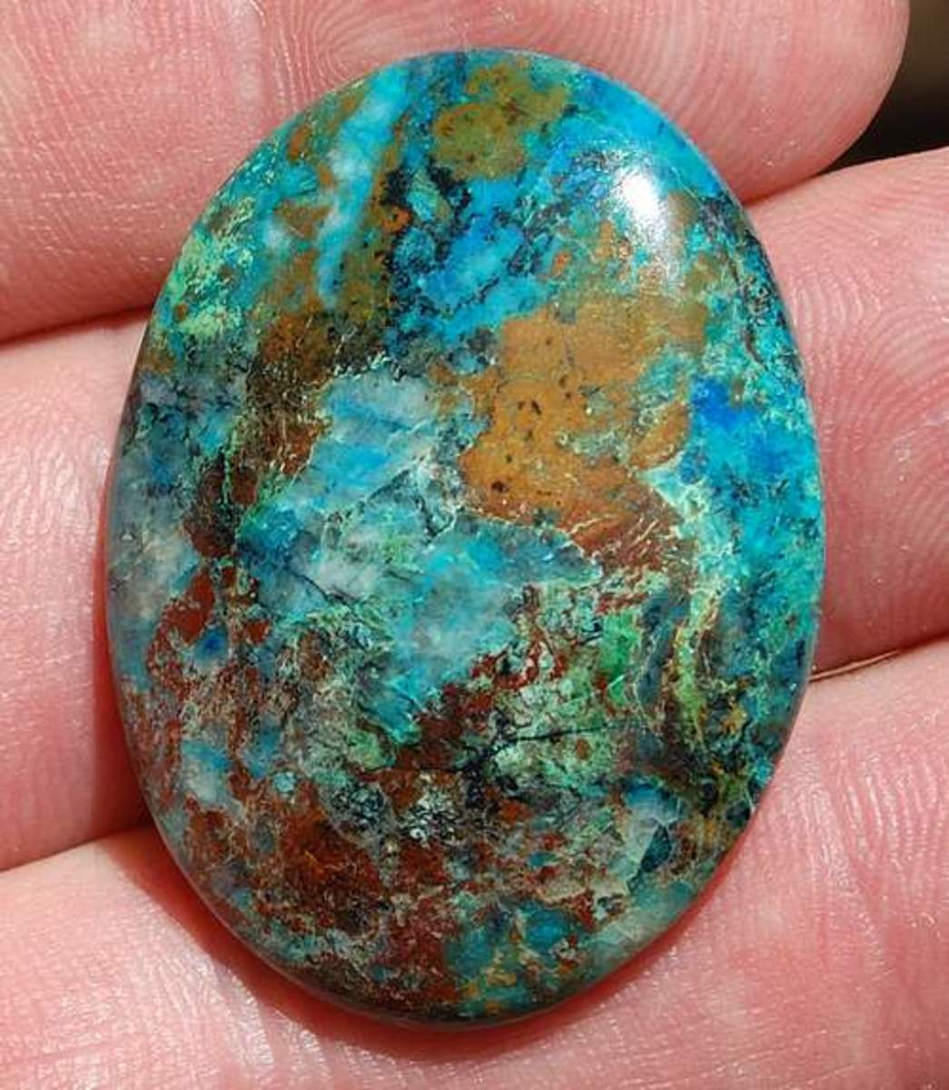 Chrysocolla from Sonora Mexico