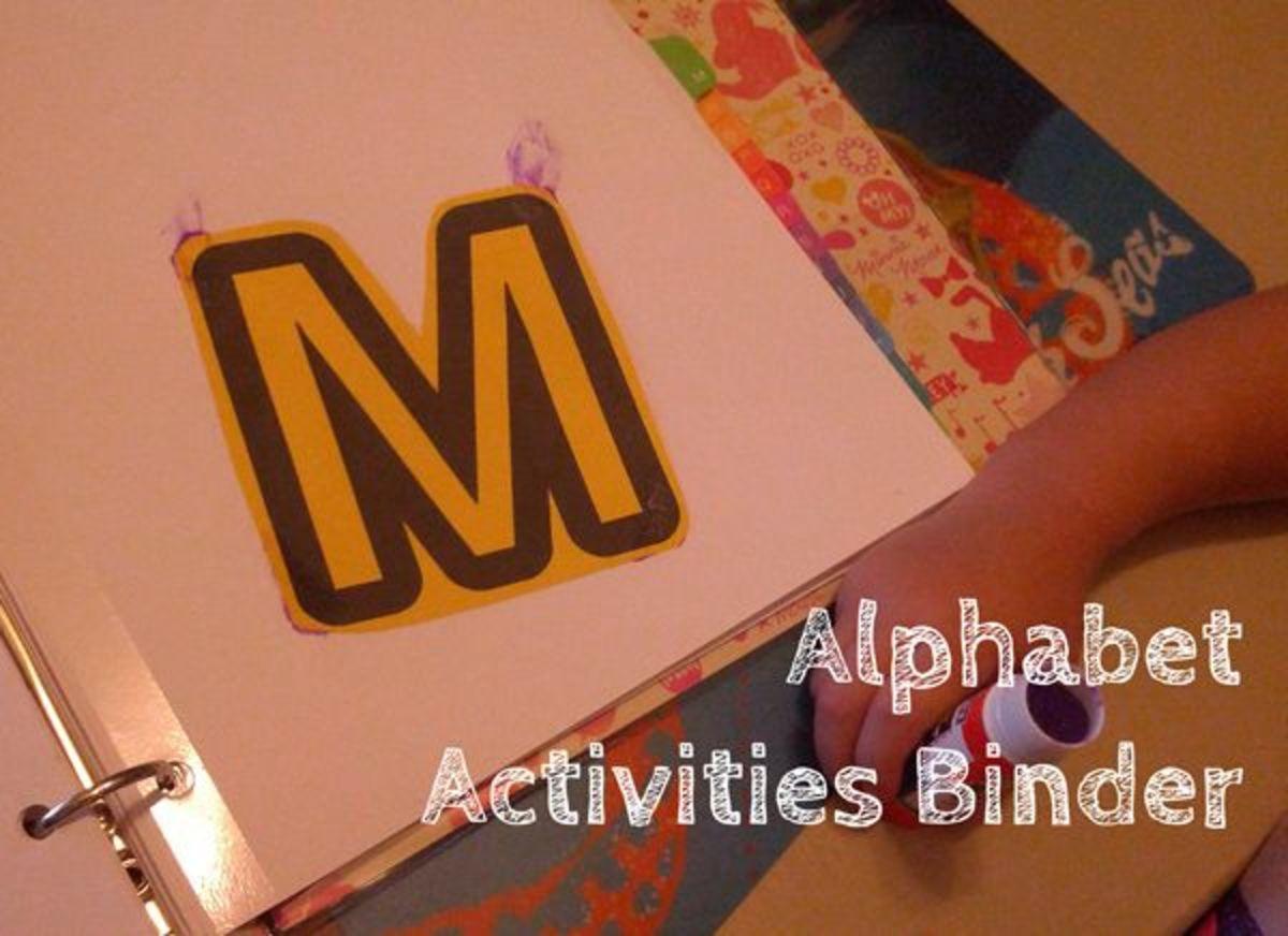 Letter M Alphabet Activities