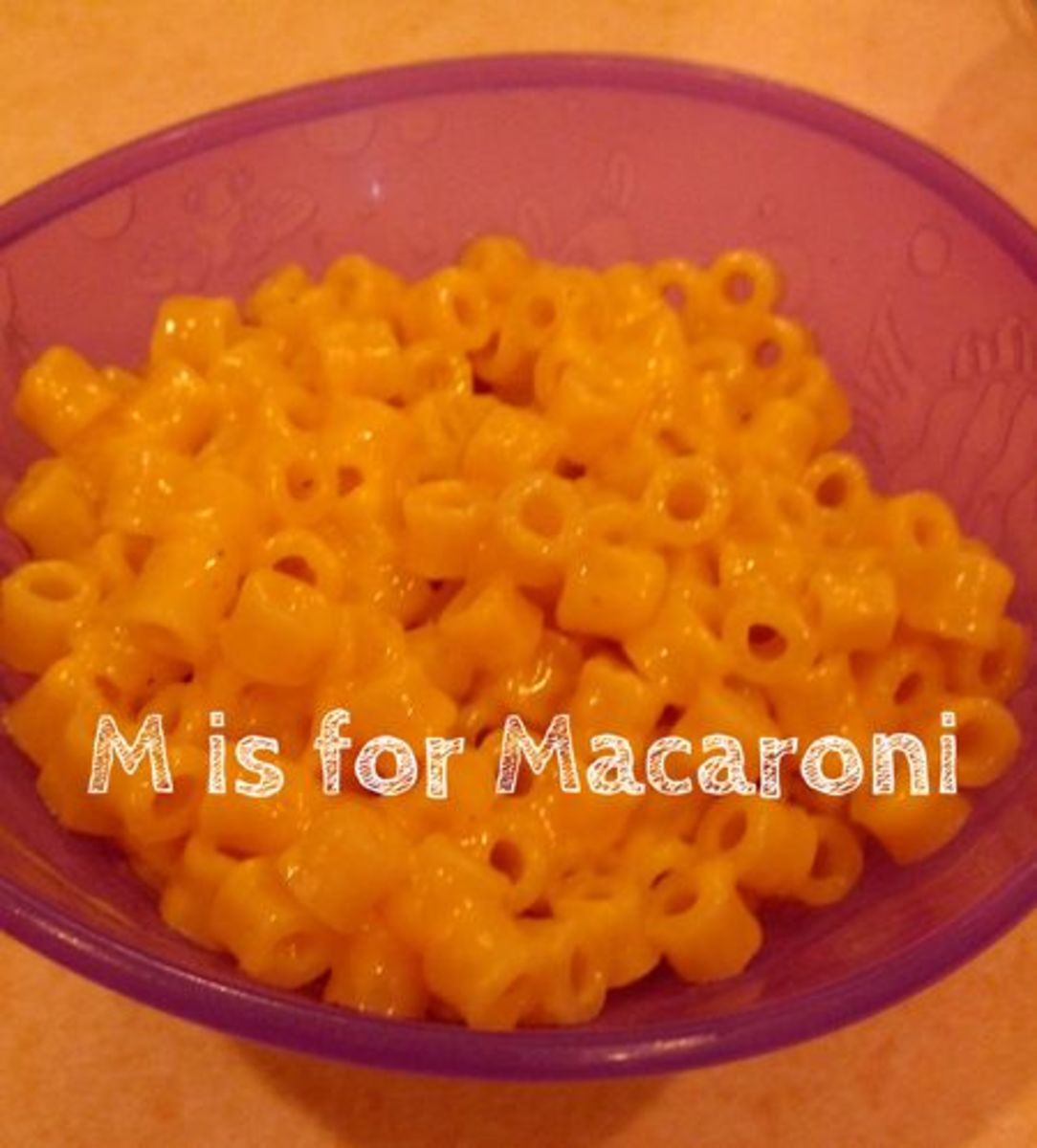 M is for Macaroni | Alphabet Activities for Kids