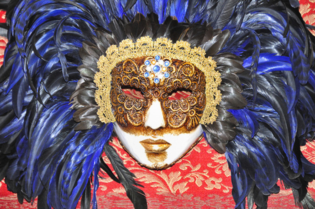 Venezian Carnival Masks - Venice - Creative Commons by gnuckx