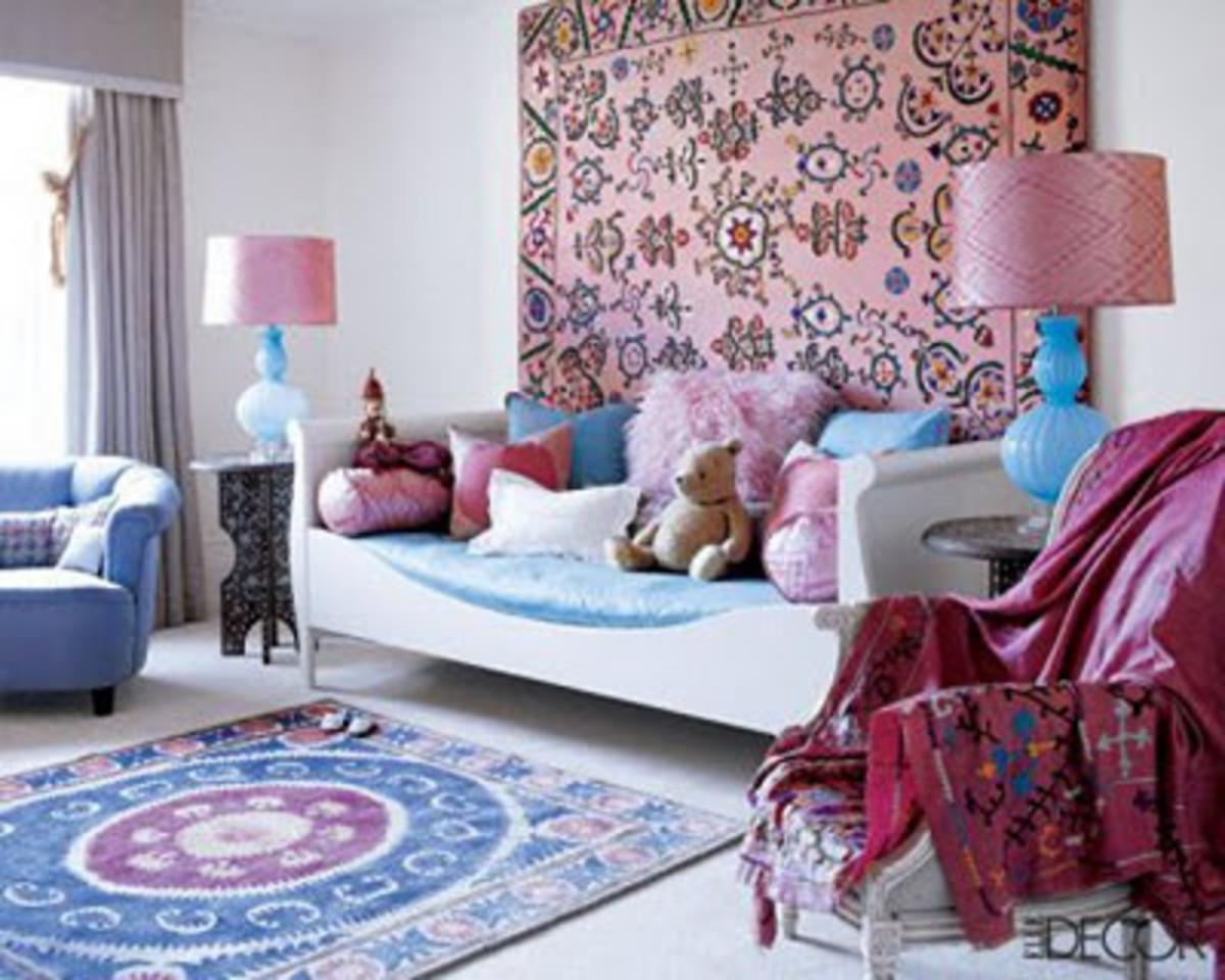 Carpet wall decoration