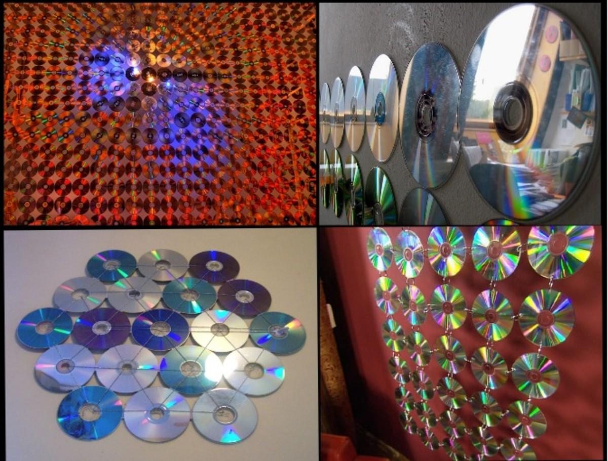 CD wall decoration